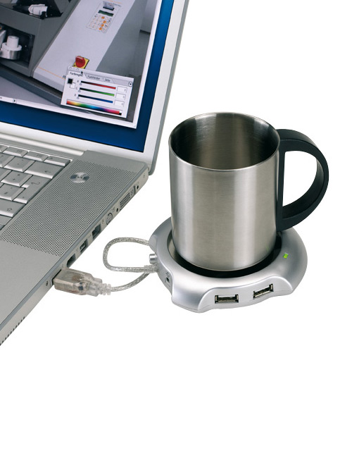 "USB-Tassenwärmer ""coffee + tea"""