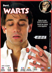 Warts - professional make-up