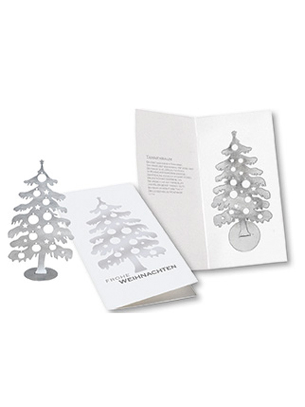 Christmas card Christmas Tree