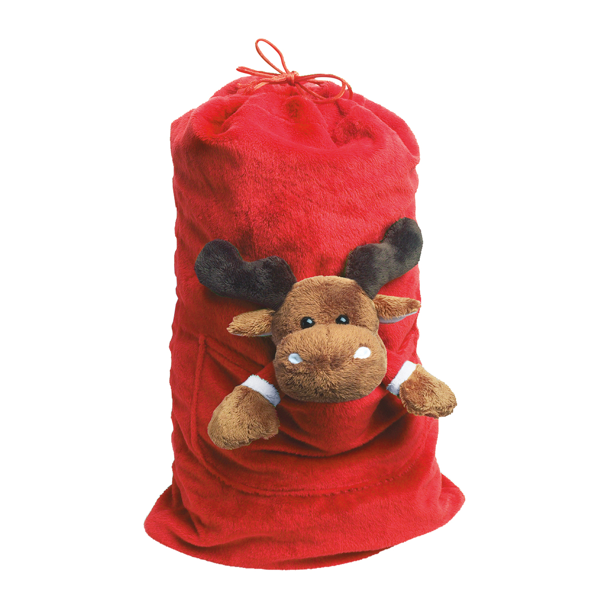 Gift Bag Reindeer for Christmas red-brown