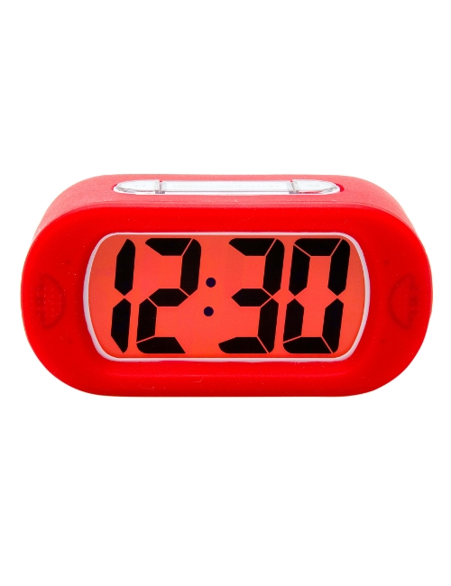 Alarm Clock Docking Station Red