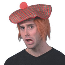 Scotsman Hat with Hair