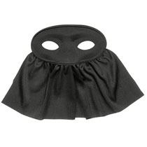 Black Eye Mask with Veil