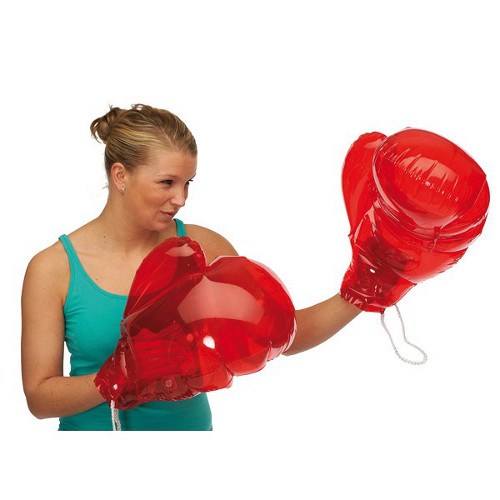 Knock Out Boxing Gloves inflatable