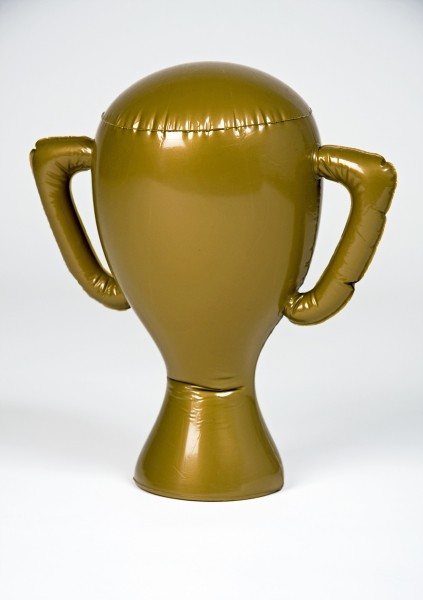 Inflatable Trophy gold