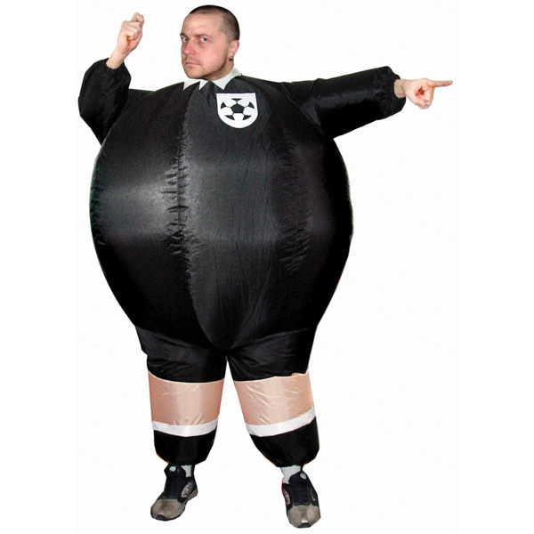Inflatable Referee black-white