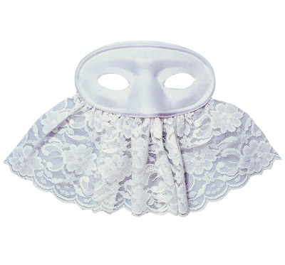 Eye mask with veil