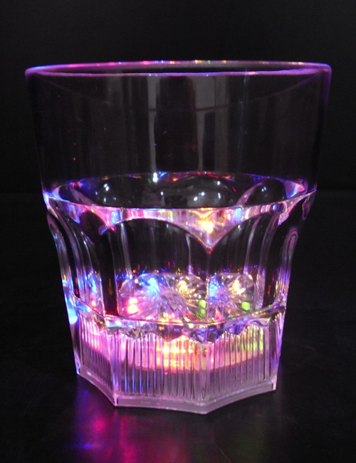 Flashing Whisky Glass 240 ml