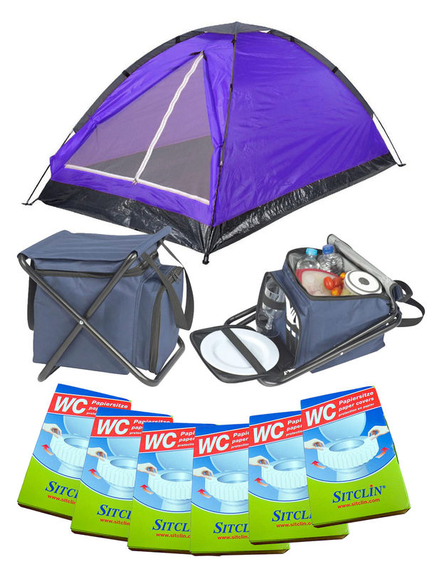 Festival Camping Full Set purple 19-pieces