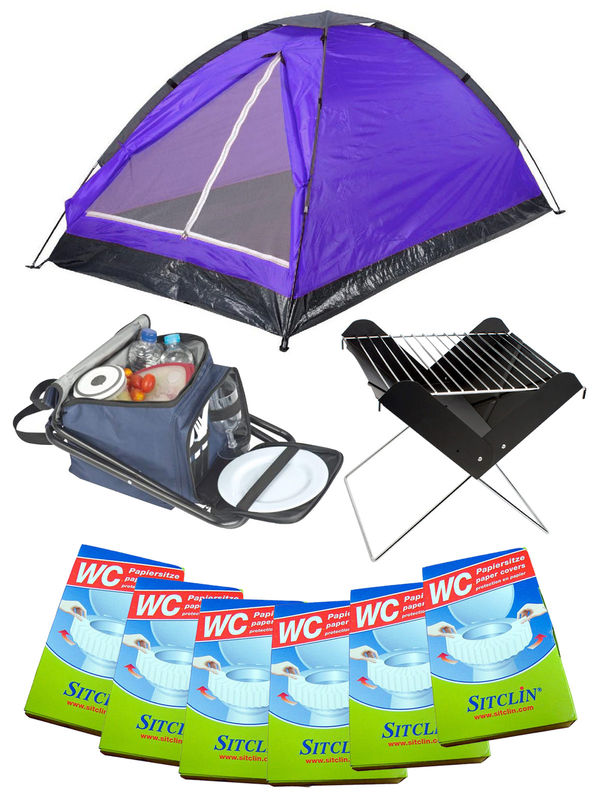 Festival Camping Full Set purple 20-pieces