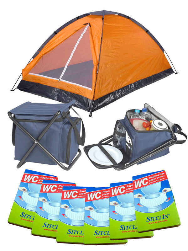 Festival Camping Full Set orange 19-pieces