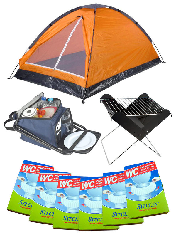Festival Camping Full Set orange 20-pieces