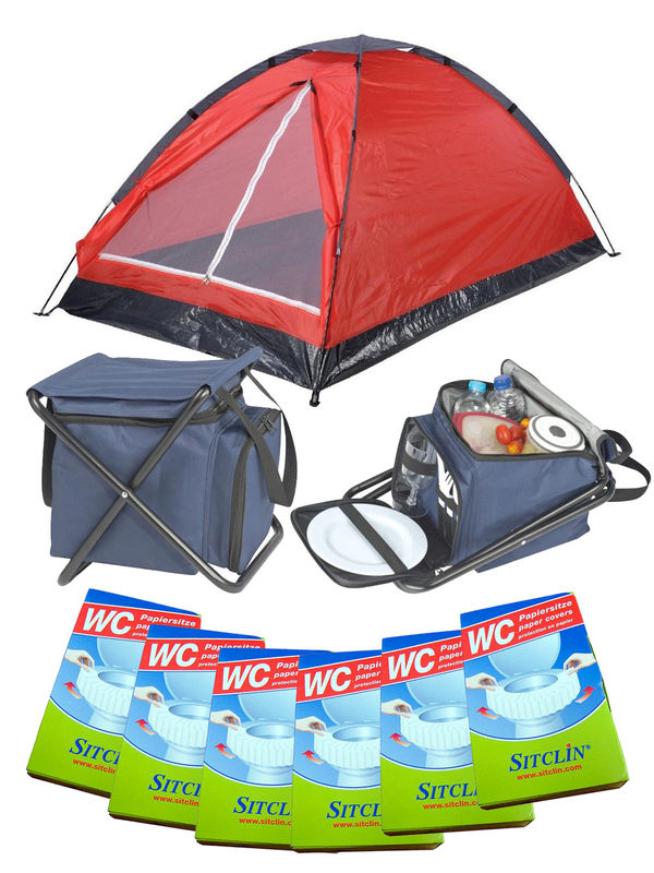 Festival Camping Full Set red 19-pieces