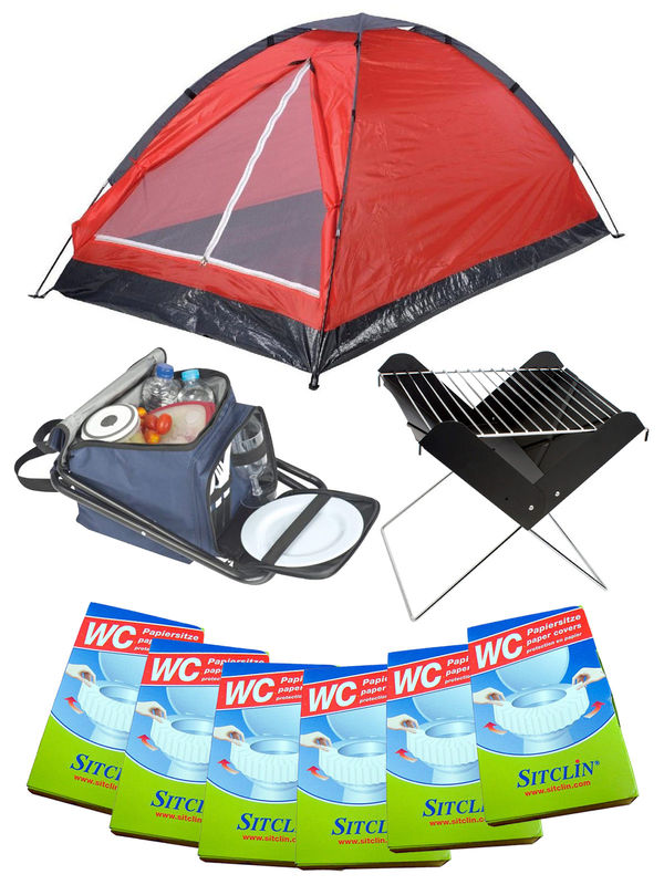 Festival Camping Full Set red 20-pieces