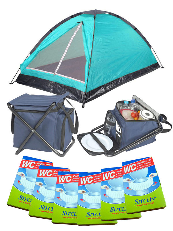 Festival Camping Full Set turquoise 19-pieces
