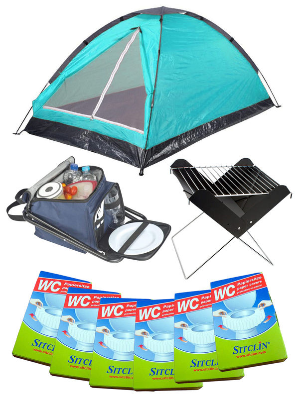 Festival Camping Full Set turquoise 20-pieces