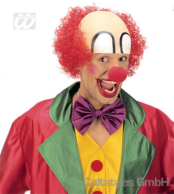 Clown Glatze