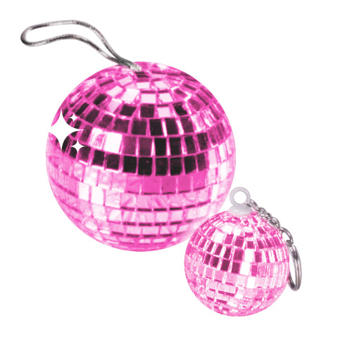 Disco Ball Pendant rose