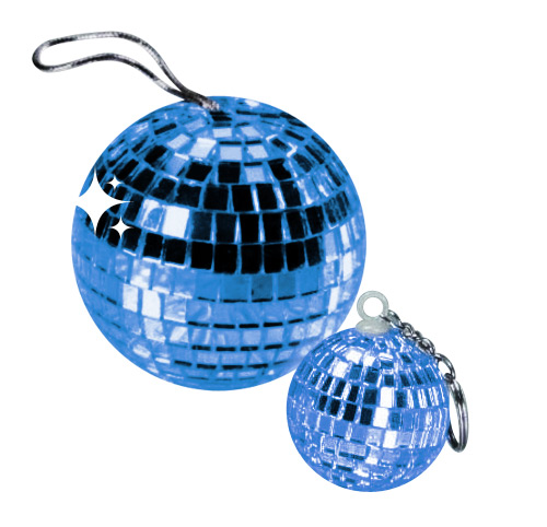 Disco Ball Pendant blue