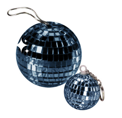 Disco Ball Pendant dark-blue
