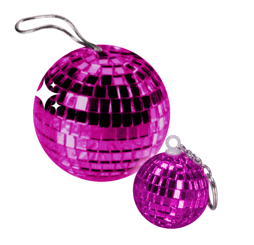 Disco Ball Pendant purple