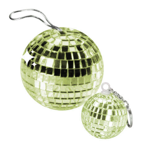 Disco Ball Pendant light-green