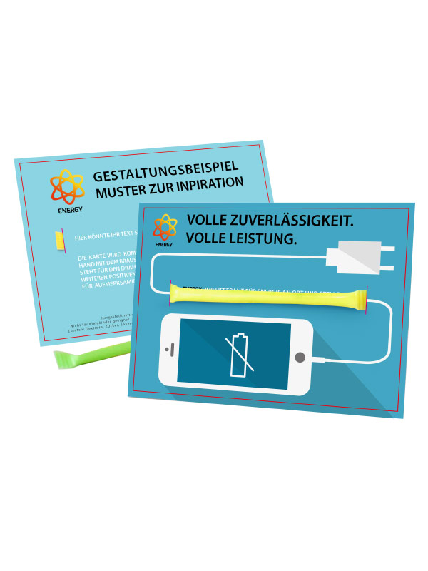 Energie Mailing Card