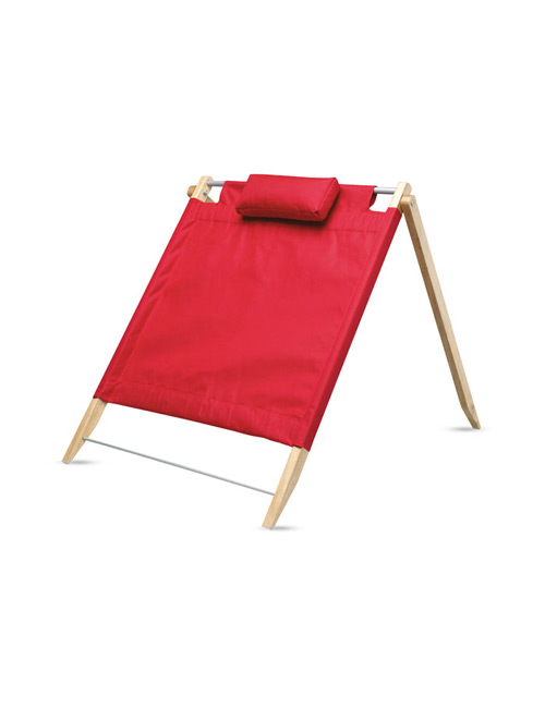 foldable beach-back red