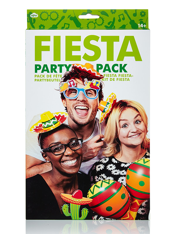 Fiesta Party-Set Party Gadget 14-teilig bunt