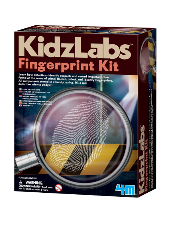 Fingerprint Detective Kit Learning Game