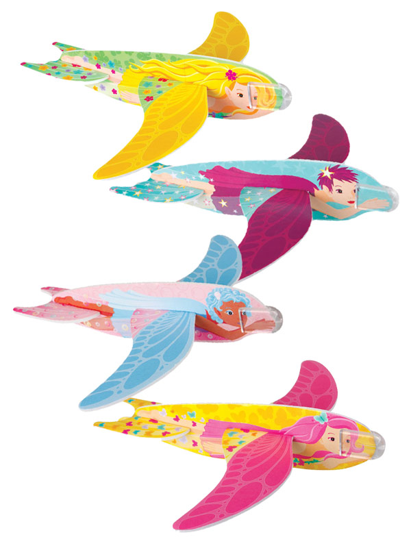 Flying Fairy Glider fourfold assorted