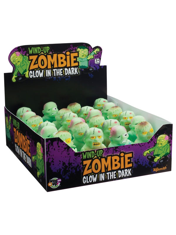 Glow in the Dark  Zombie Wind-Up Figure