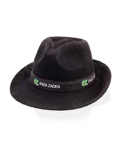 gangsterhat fabric black
