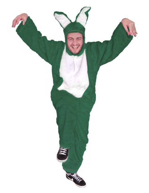 Bunny Costume darkgreen