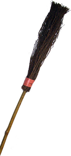 Witch's besom
