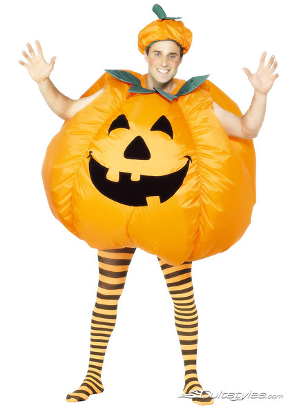 Pumpkin costume inflatable