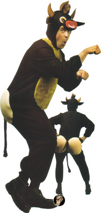 Cow costume Raging Bull