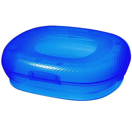 Lunchbox Storage Box Football Arena blue