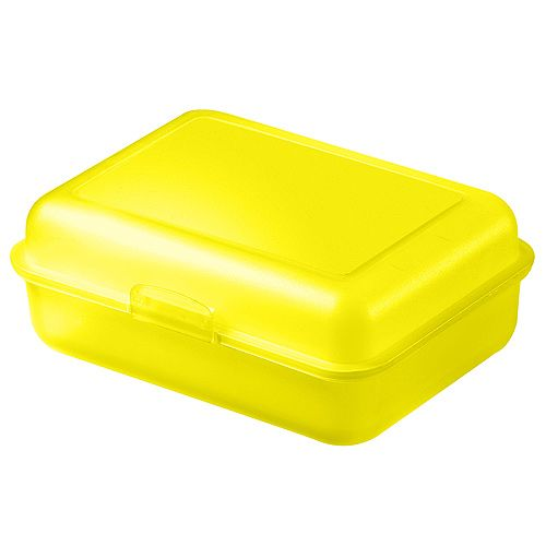 Lunch Box Storage Box large yellow