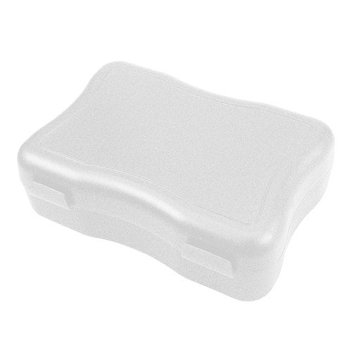 Lunchbox Storage Box Wave Form large white
