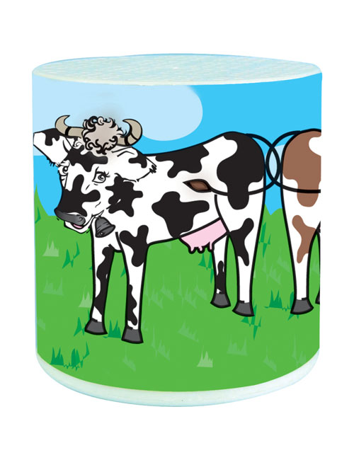 Cow-sound tin