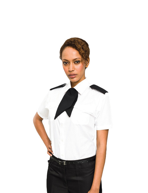 Ladies pilot shirt short