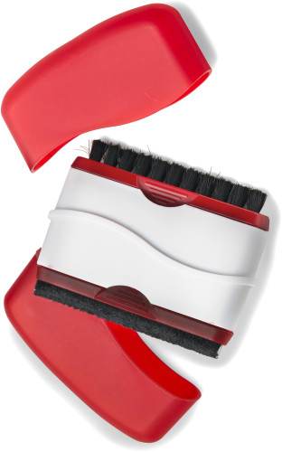 Cleaning Brush for Monitor and Keyboard red