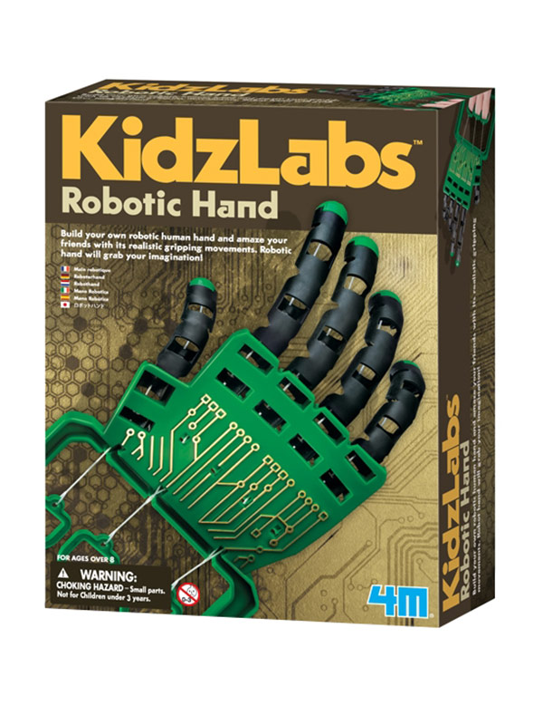 Robotic Hand to Assemble Learning Game