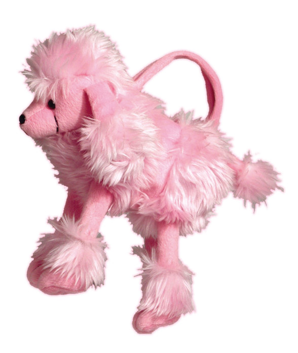 Poodle Plush Bag