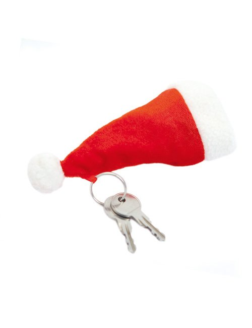 Key Tag Santa's Hat