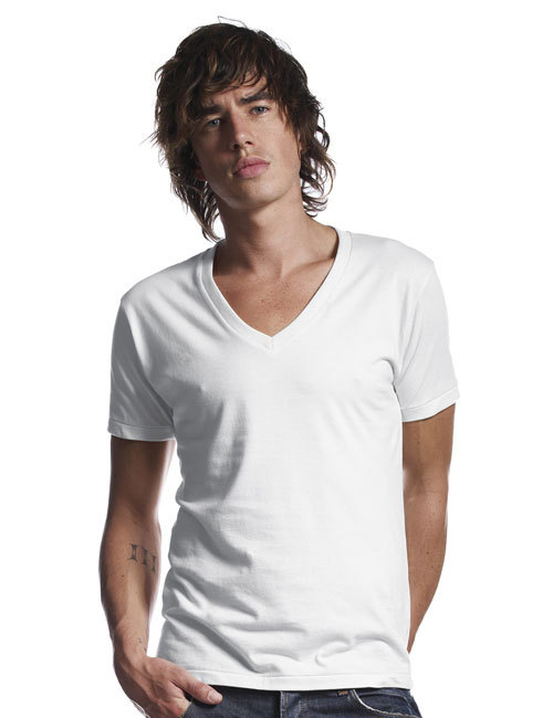 *Men´s Deep V-Neck T-Shirt
