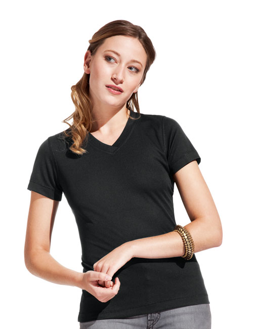 * Women's Function V- Neck-T-shirt