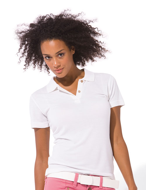 * Damen Bamboo Polo