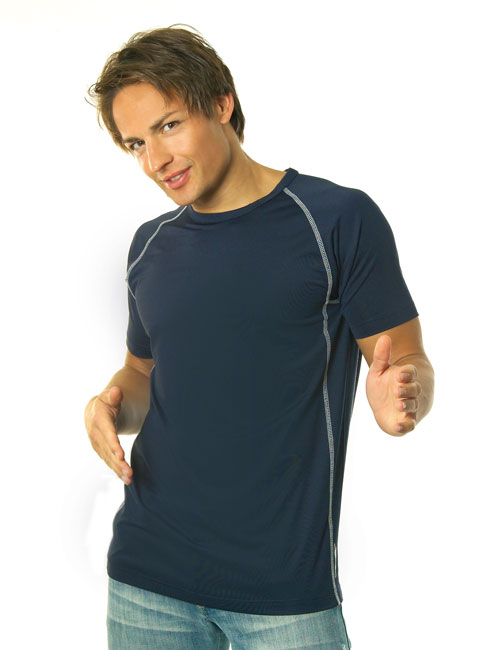 * Cool Fit Contrast T-Shirt